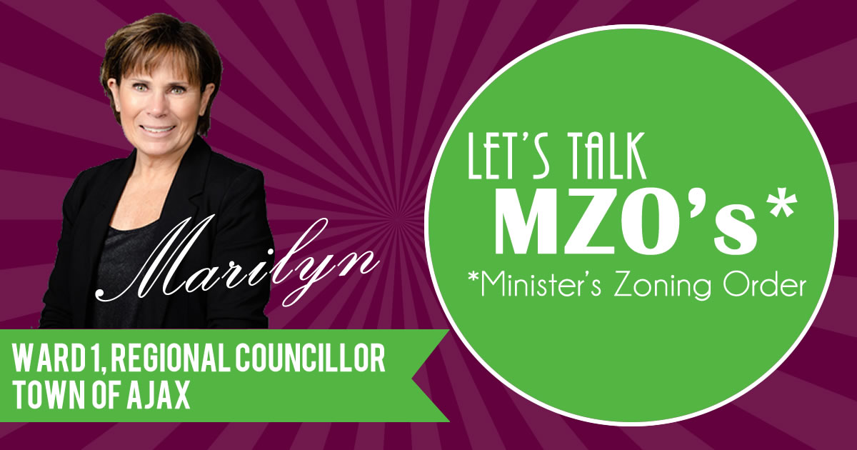 Ministry Zoning Order - What is it?